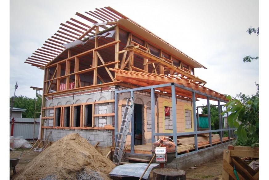 Достройка и реконструкция загородных домов