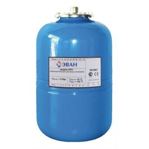 Расширительный бак для системы водоснабжения ЭВАН WATV-100
