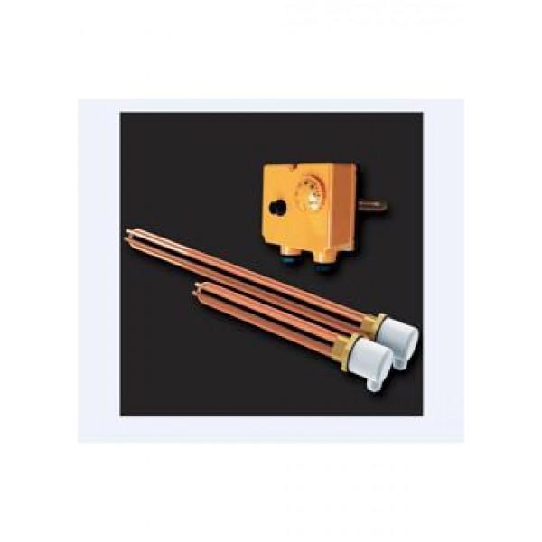 ТЭН + термостат 2X7.5 кВт медь