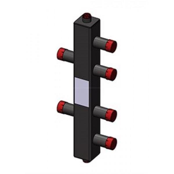 Гидроразделитель Zota вертикальный универсальный, 2 контура, до 50 кВт