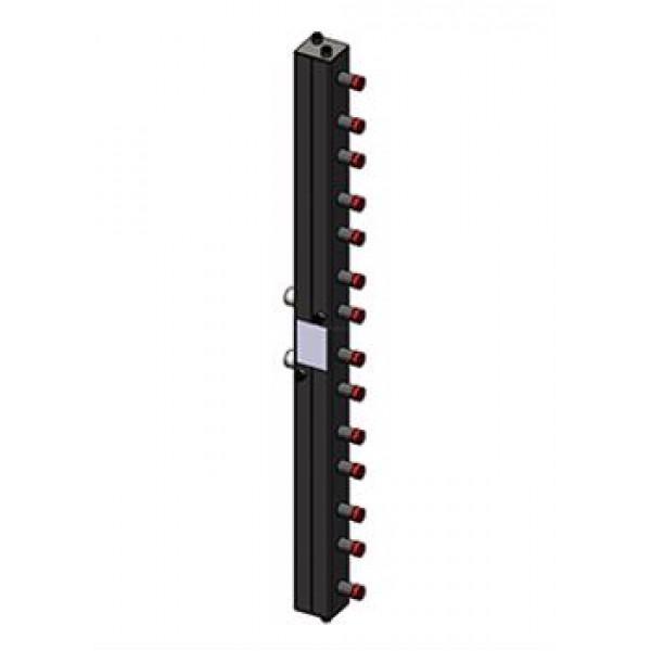 Гидравлический коллектор Zota вертикальный, 7 контуров, до 70кВт