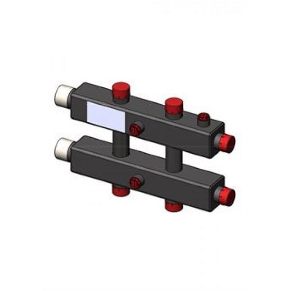 Гидравлический коллектор Zota горизонтальный, 3 контура, до 70кВт