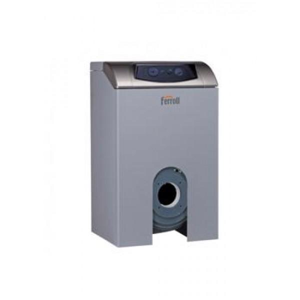 Напольный котел для работы с надувной горелкой газ/дизель  FERROLI ATLAS EVO 47