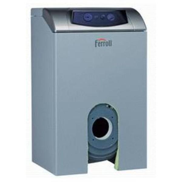 Напольный котел для работы с надувной горелкой газ/дизель Ferroli ATLAS 32