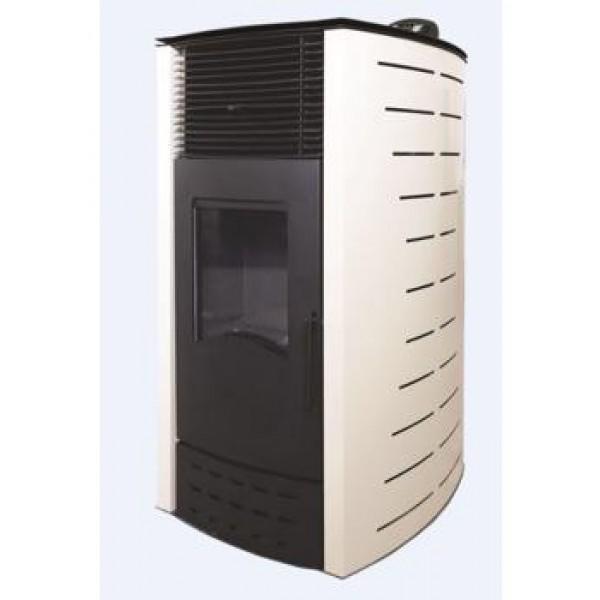 Пеллетный камин BURNIT PD COMFORT PLUS 10KW BORDEAUX