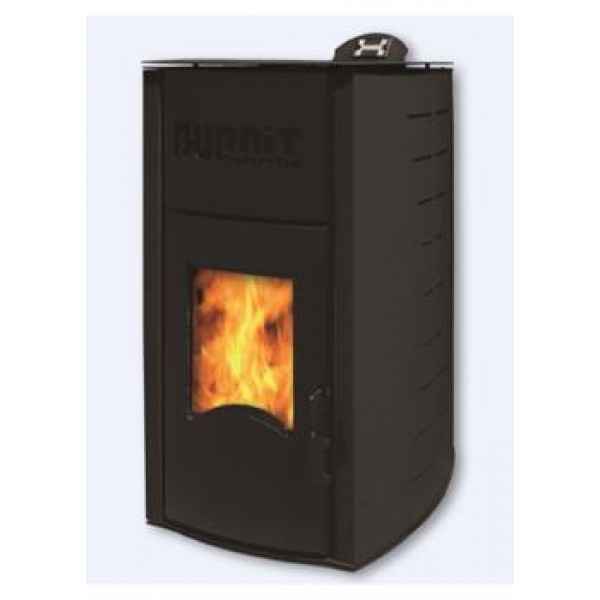 Пеллетный камин BURNIT PM COMFORT PLUS 25KW B BLACK