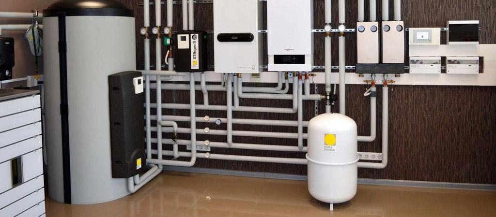 Основные схемы отопления коттеджа