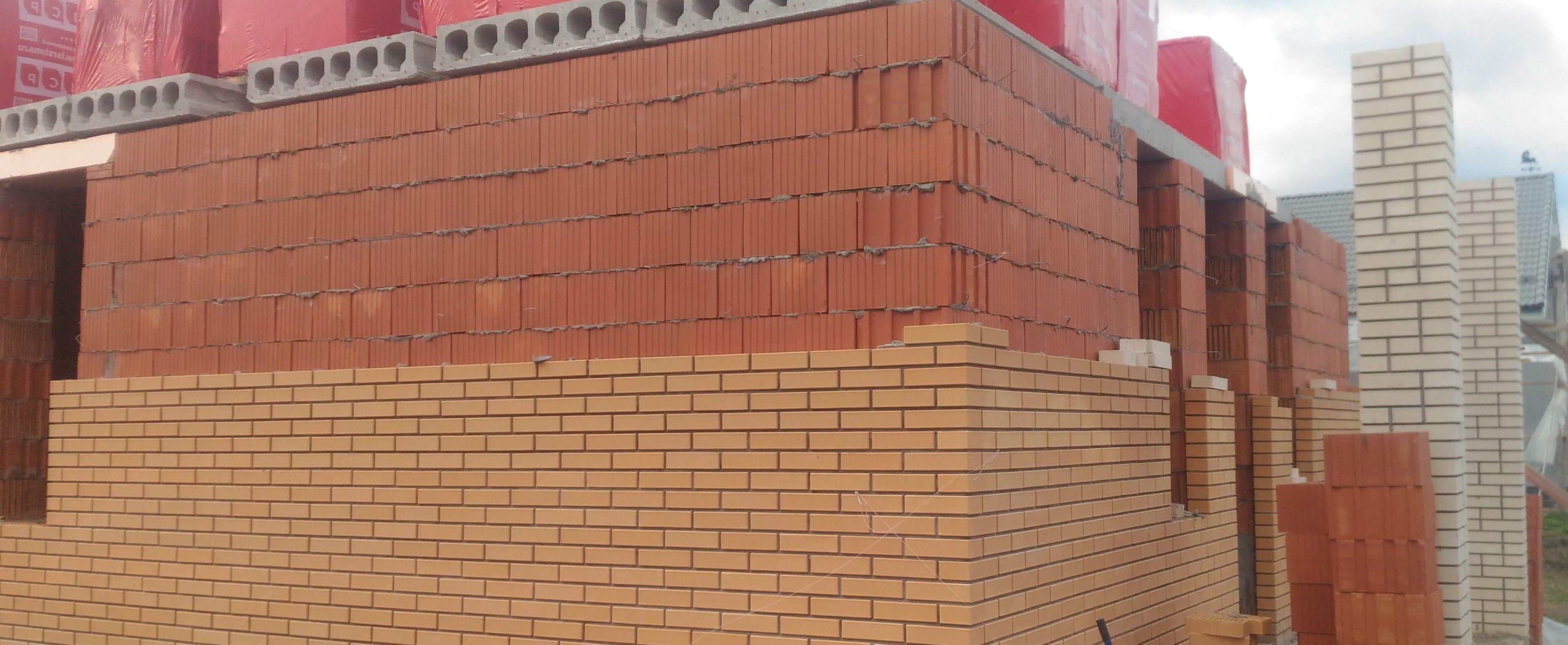 Наружная отделка дома из кирпича, газобетона или керамических блоков